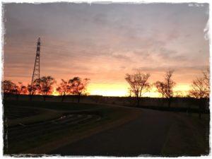 夕陽のイメージ写真