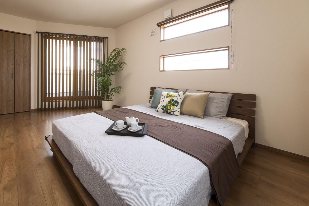 モデルハウス14の寝室写真1