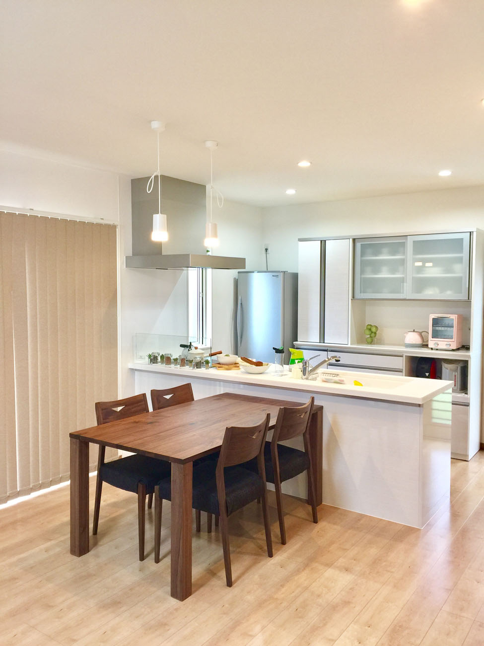モデルハウス17号のダイニングキッチン写真