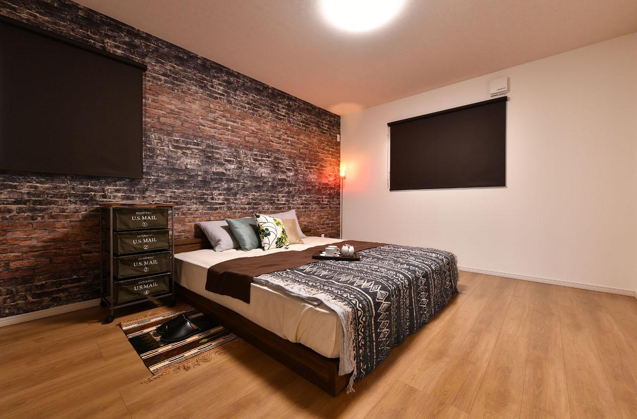 モデルハウス19号の寝室写真