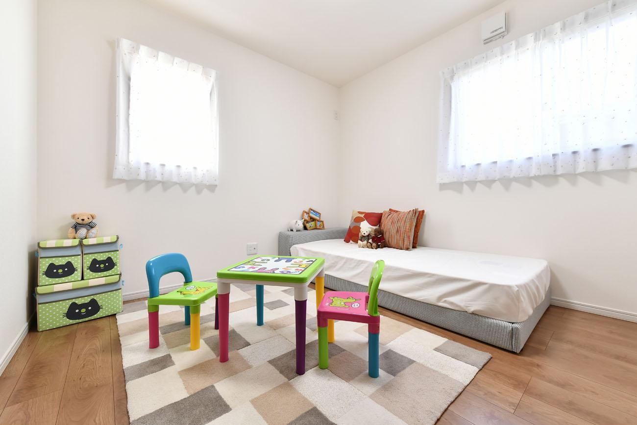 モデルハウス19号の子ども部屋写真