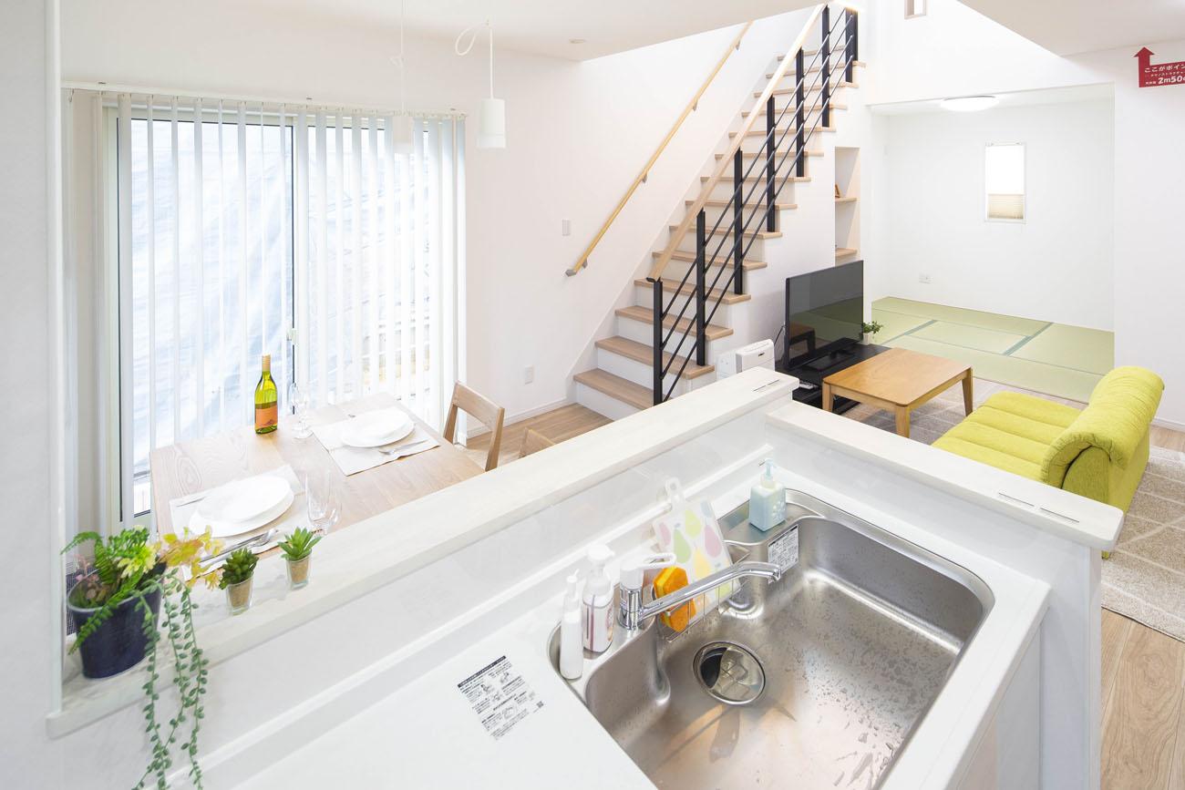 モデルハウス20号のキッチン画像