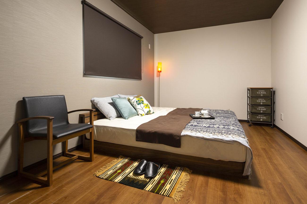 モデルハウス20号の寝室写真